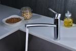 Смеситель кухонный EMAR 3011 стальной