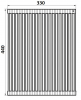 Ролл-мат Roll-4433.QS (квадратный пруток)